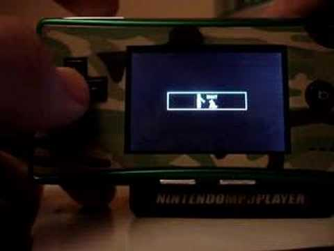 Nintendo MP3 Player part 2