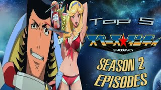 Top 5 Space Dandy Episodes (..from Season 2)