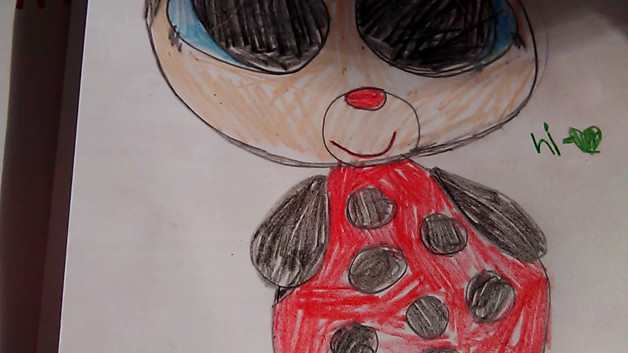 Beanie Boo drawings ladybug and Bumblebee💙 - YouTube 841237a1f3a