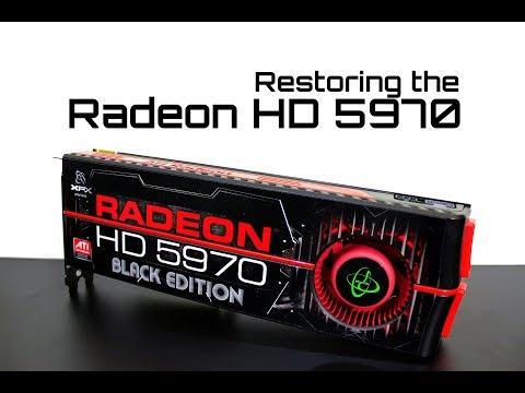 Restoring The ATI Radeon HD 5970