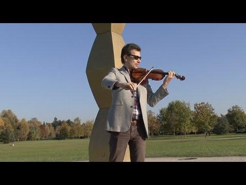 """Alexandru Tomescu - """"Lăutarul"""" de George Enescu (la Coloana infinitului)"""