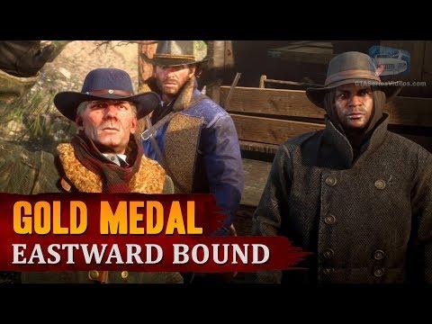 Red Dead Redemption 2 – Mission #6 – Eastward Bound [Gold Medal]