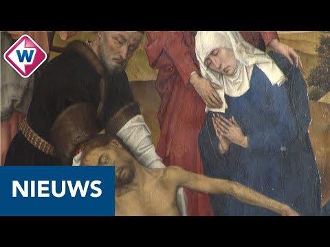 Oudste schilderij Mauritshuis gerestaureerd