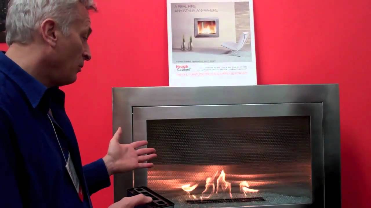 FAQ about Hearth Cabinet™ Ventless Fireplaces - YouTube