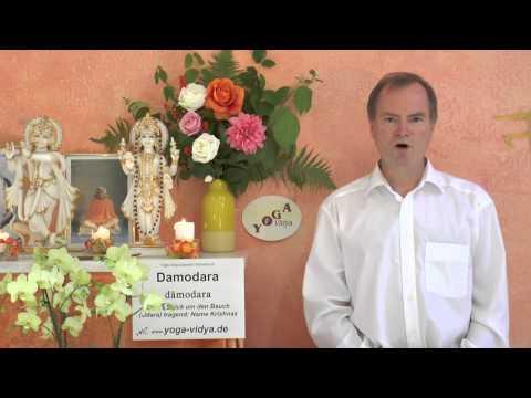 Damodara - Name Krishnas - Sanskrit Wörterbuch