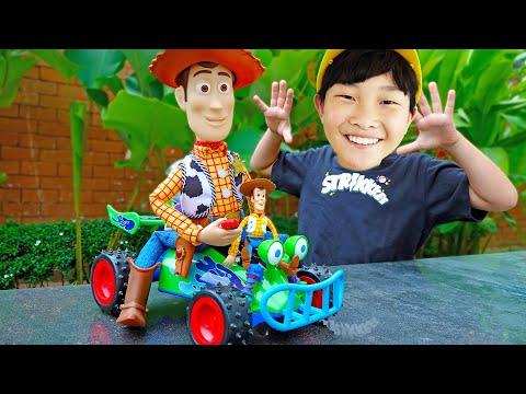 예준이의 토이 스토리 자동차 장난감 놀이 Toy Story Real Life with Car Toys