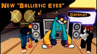 "Using the New ""Ballistic Eyes"" to Play as Whitty in Funky Friday"