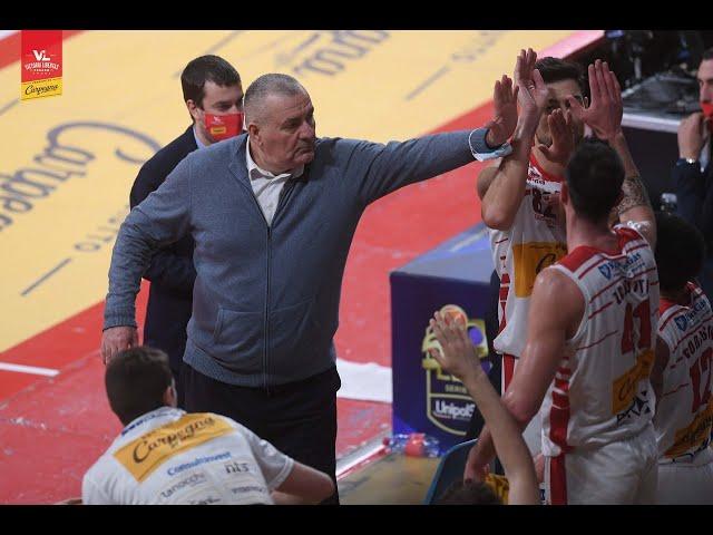 [FullMatch] Carpegna Prosciutto Basket Pesaro - Acqua S.Bernardo Cantù : 107-83