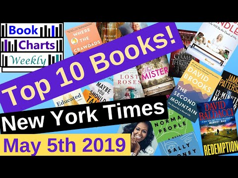 top-10-books-to-read---fiction-&-nonfiction:-new-york-times-best-sellers'-chart-(may-5th-2019).