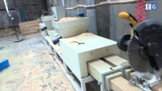 Пресс для производства бобышек с дополнительным оборудованием(Предлагаем вашему вниманию видео работы станка для производства бобышек для поддонов. С дополнительным..., 2015-09-18T04:42:23.000Z)