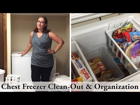 Chest Freezer Clean-Out & Organization