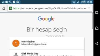 Android Telefonlarda Gmail Oturumu Nasıl Kapatılır?