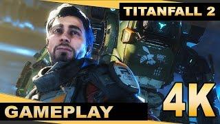 Titanfall 2 (PC) - 4K Gameplay - Kane Boss fight (Hard) [ 2160p 60fps]