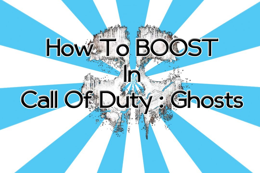 How to boost in call of duty ghosts hack youtube