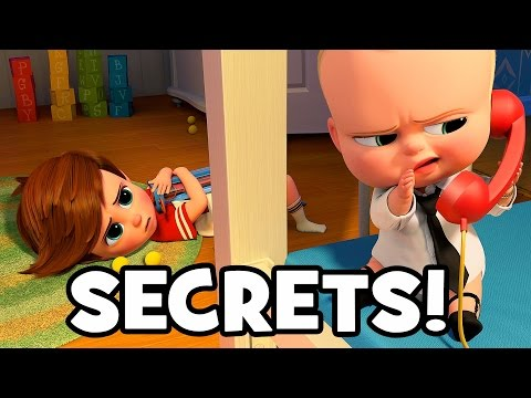 15 SECRETS You Need To Know About THE BOSS BABY