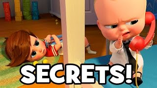 15 SECRETS About THE BOSS BABY - DreamWorks Animation