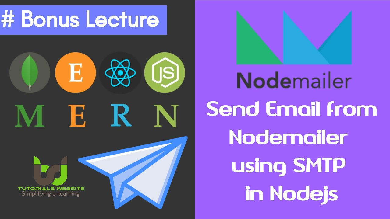 How to Send Emails with Node.js | Bonus Lecture | #20 MERN STACK Tutorials in Hindi