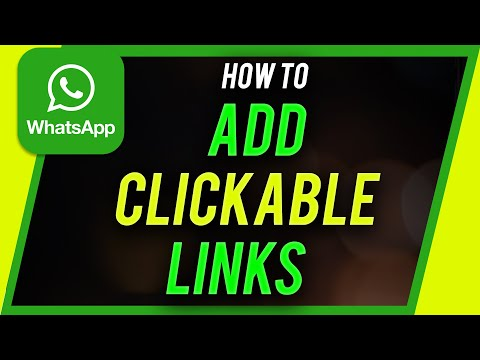 How To Add Clickable Link In Whatsapp Status Youtube