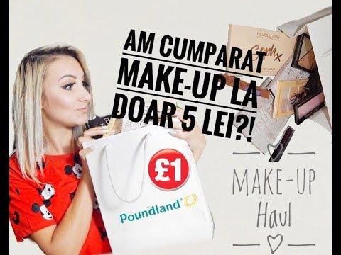 Makeup de la Poundland! Produse la DOAR 5 LEI! | Makeup Haul | ♥ Zuzulicka Larisa ♥