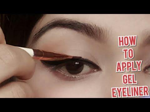 How to apply gel eyeliner like a pro||music flower gel eyeliner ||makeup for love n desire||