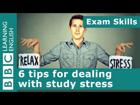Exam skills: 6 tips for dealing with study stress