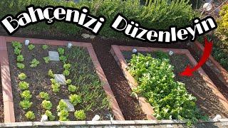 Sebze Bahçesi Nasıl Yapılır | Bahçenizi Bizimle Düzenleyin | Şehirden Köye Dönüş 3