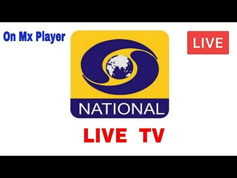 DD National live TV | On MX player