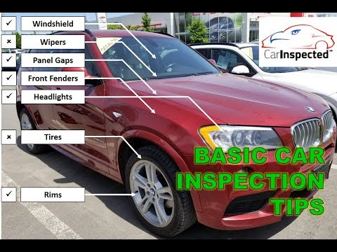 Pre Purchase inspection of a used Vehicle DIY, tips, tricks, by Car Inspected (1/2)