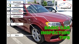 How to inspect a used vehicle (DIY), tips & hacks by Car Inspected (1/2)