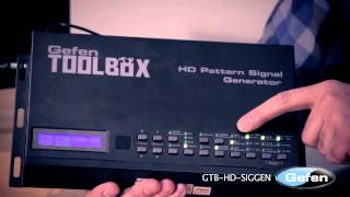 Advanced features of HD Pattern Signal Generator explained...