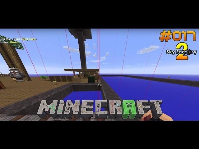 Let's Play Minecraft Sky-Factory 2 | Neue Besetzung und Hausbau | Folge #017