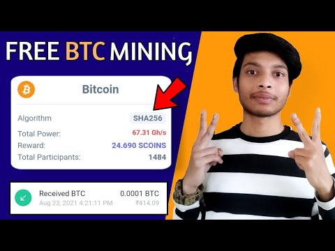 Earn Bitcoin Mining Without Any Investment | Best Bitcoin Mining Site | Earn Free Bitcoin With Proof