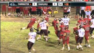 Tigi Hill Kahuku Football 2010 Highlights