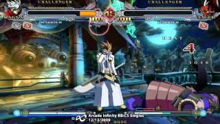 Arcade Infinity Blazblue: Continuum Shift  -  Grand Final ODD03 (RA) vs Mike_Z (TA)