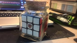 Impossible Cube in a Bottle/Jar - How I did it and how you can too!