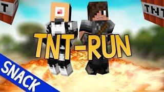 TNT run vs Ronald! - TNT run minigame