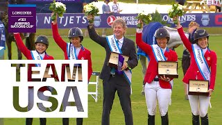 Laura Kraut, Beezie & Co - The perfect mixture for Team USA Jumping | Team in Focus