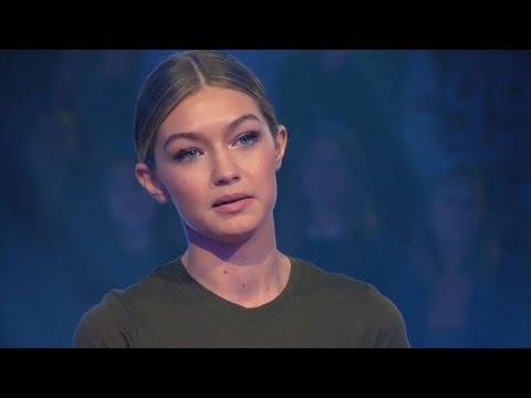 Gigi Hadid Tearfully Addresses Her Family