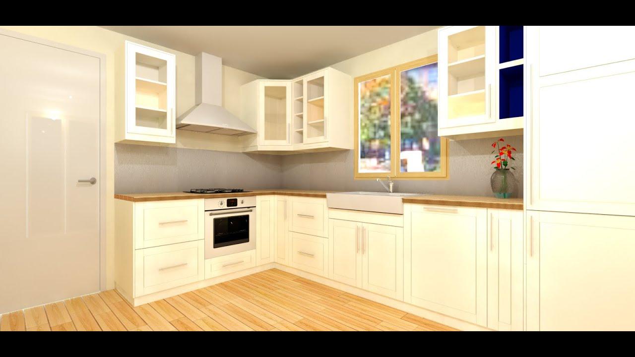 tuto 01 faire sa cuisine 3d youtube