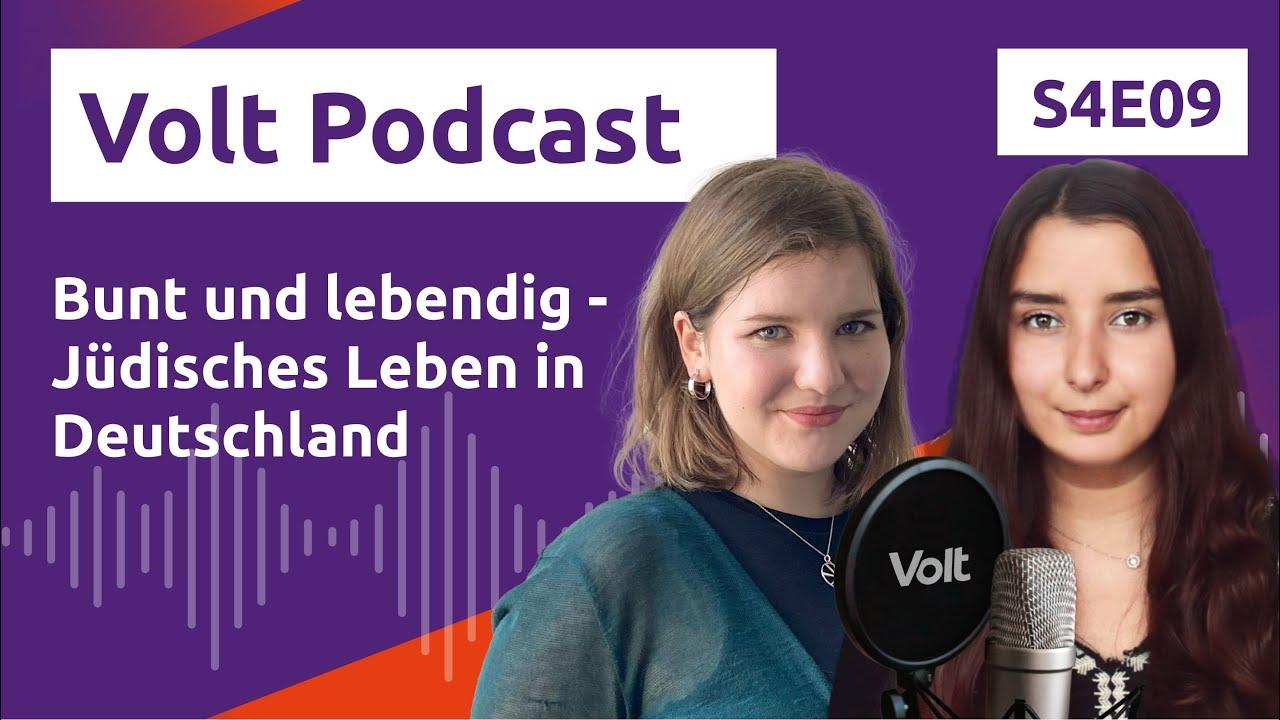 YouTube: Bunt und lebendig: Jüdisches Leben in Deutschland – Hochspannung Podcast