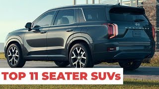 11 Big And Spacious 8 Seater SUVs in 2019 - All-Time Best !