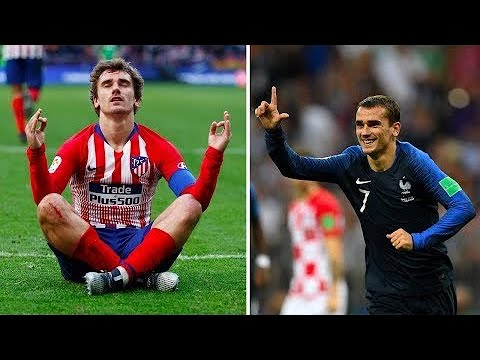9f52d33c7 The reason why Antoine Griezmann always wears a long sleeved jersey ...