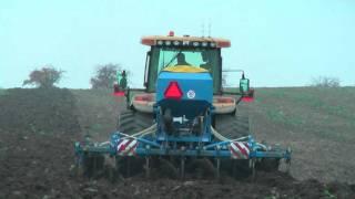 Autopilot Trimble CFX-750 RTK VRS - hrůbkování pro kukuřici (listopad 2011)