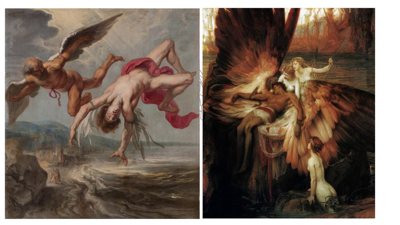 tragic fall of icarus Literary devices anyone the author ends the poem by saying tragic fall of field uses the tragic story of daedalus and icarus to contrast the life.