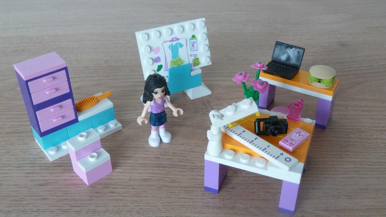 Lego 3936 Lego Friends Emma S Fashion Design Studio Youtube