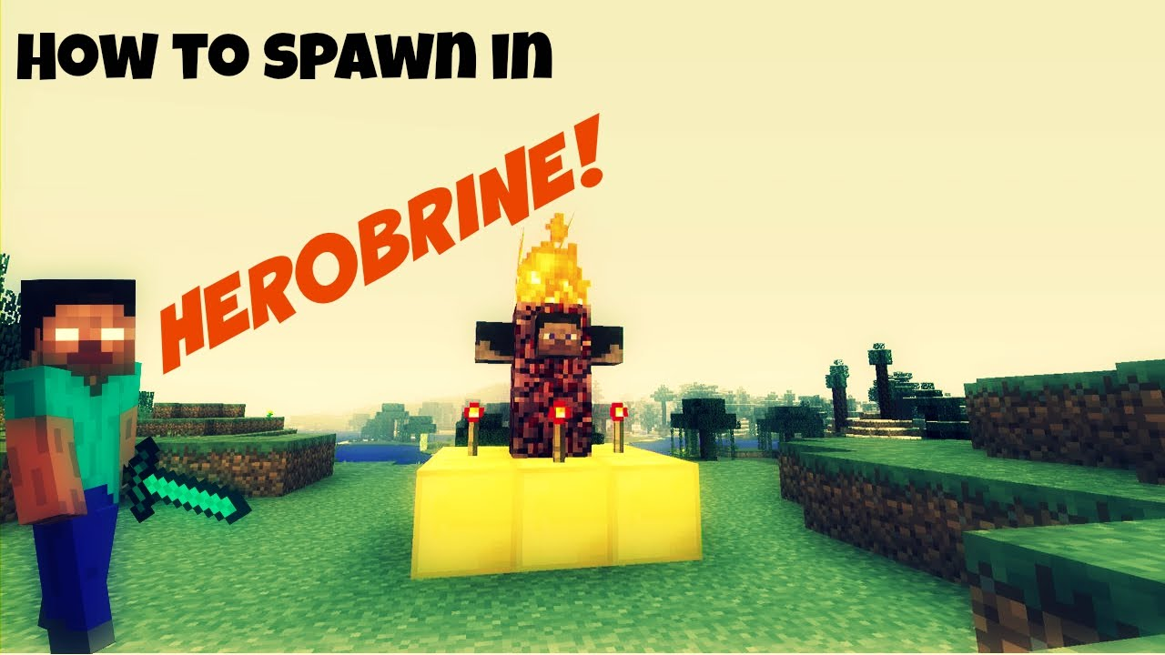 how to find herobrine in minecraft xbox 360 edition