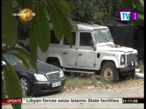 News1st: Luxury vehicles parked at Mumtaz Mahal, Colombo remain a mystery