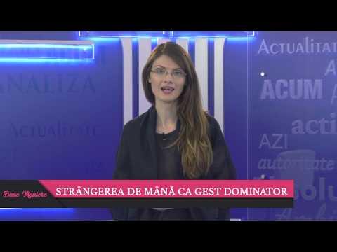 71. BUNE MANIERE - STÂNGEREA DE MÂNĂ CA GEST DOMINATOR - ANDREEA MOCAN