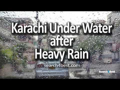 Karachi Under Water after Heavy Rain August 2017