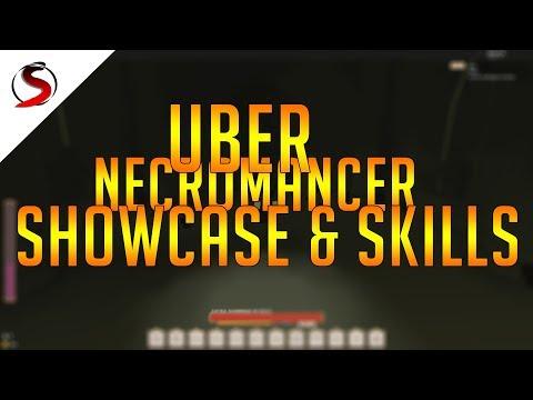 Rogue Lineage | Uber Necromancer FULL Showcase & Skills |